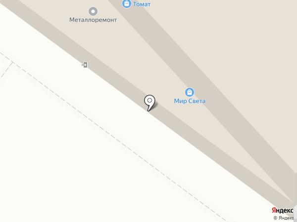 Химлак на карте Иркутска