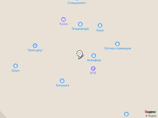 Акцент 38 на карте Иркутска