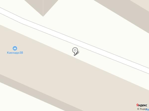 Автотон+ на карте Иркутска