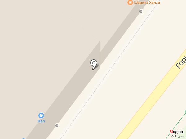 АБВорота на карте Иркутска