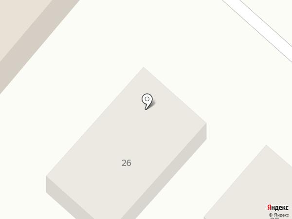 Изумруд на карте Иркутска