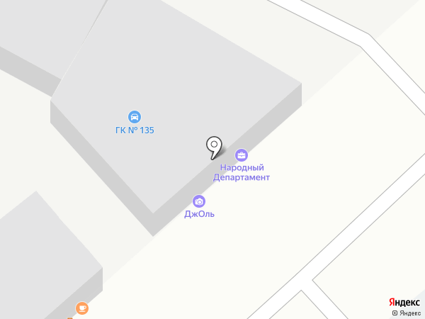 Джоль на карте Иркутска