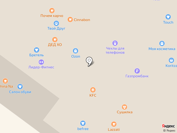 Банкомат, Газпромбанк на карте Иркутска