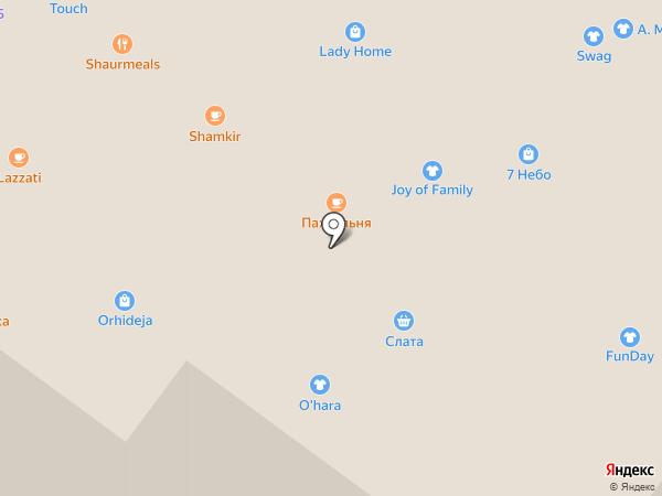 Baon на карте Иркутска