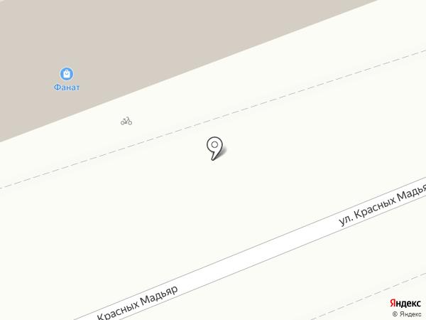 Киви на карте Иркутска