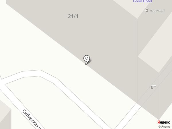 Сервисный центр Инэкс на карте Иркутска