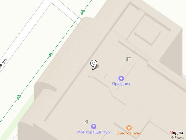 Ягода на карте Иркутска