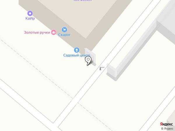 Золотые ручки на карте Иркутска