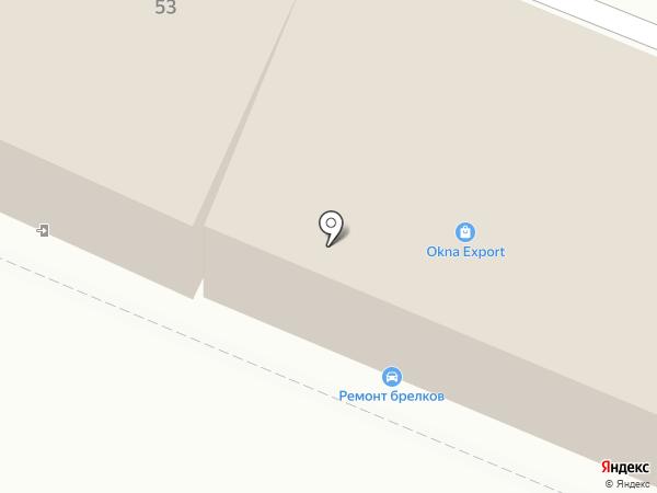 Оконный сервисный центр на карте Иркутска
