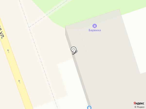Три трешки на карте Иркутска