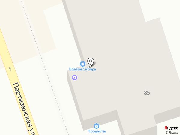 Сибтон на карте Иркутска