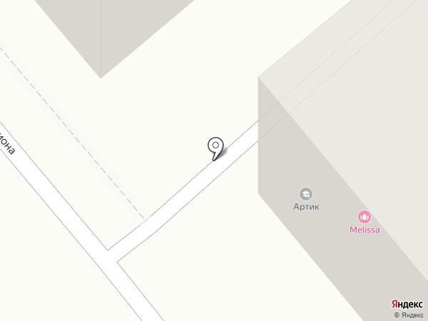 Гараж на карте Иркутска