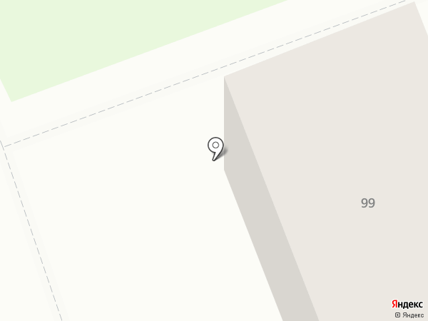 Салон огненного массажа на карте Иркутска