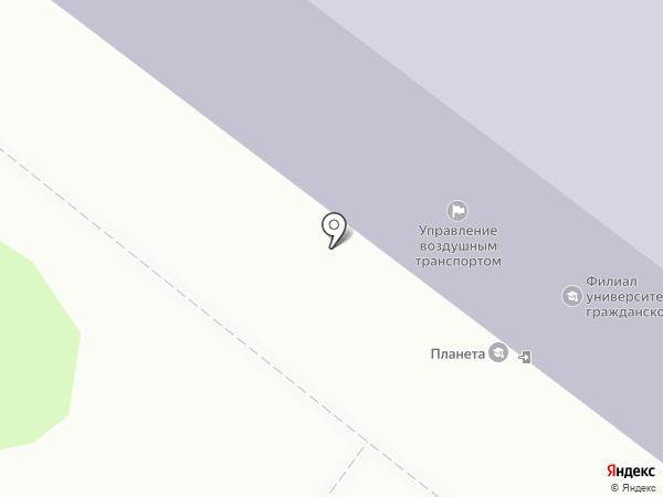 Промко на карте Иркутска