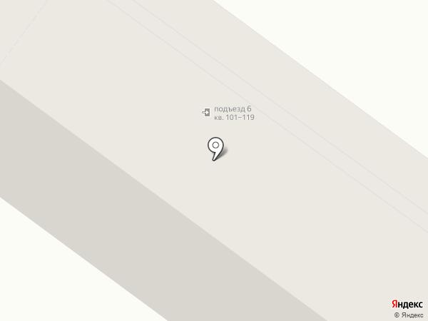 Волна на карте Иркутска