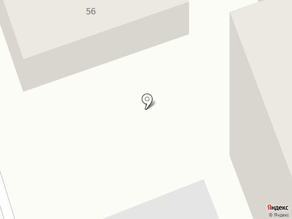 Флажок на карте Иркутска