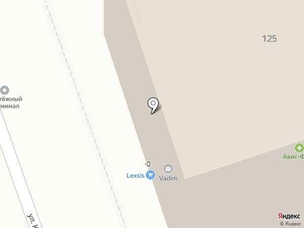 Мажор на карте Иркутска