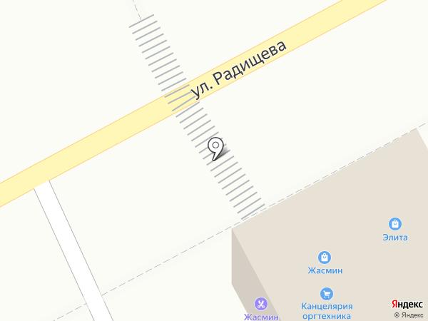 Салон-парикмахерская на карте Иркутска