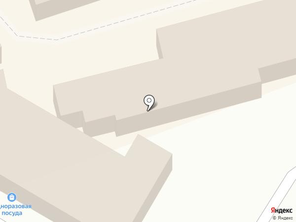 Любава на карте Иркутска
