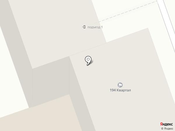 194 квартал на карте Иркутска