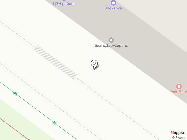 Милая на карте Иркутска