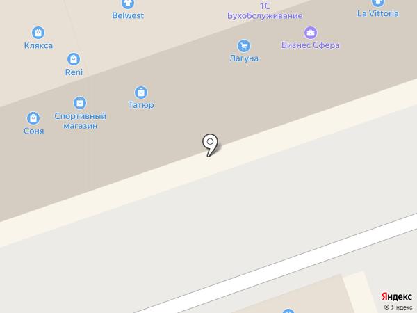 Охапка на карте Иркутска