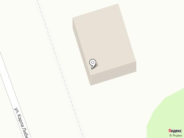 Марселина на карте Иркутска