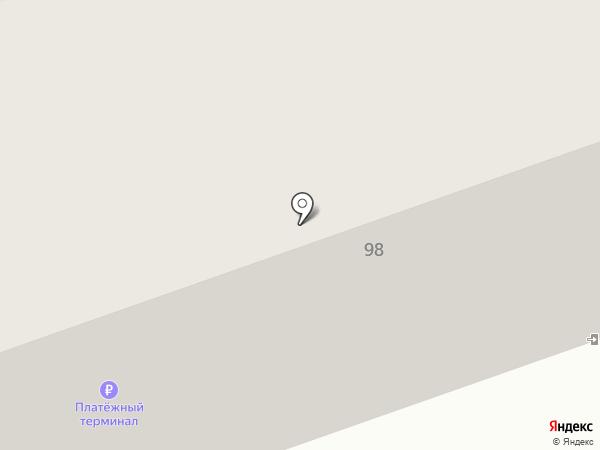 Таис на карте Иркутска