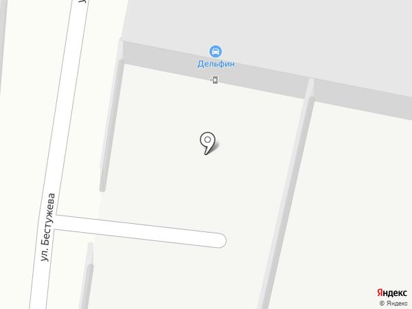 Деко на карте Иркутска