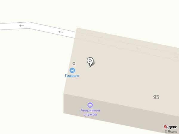 Автомойка на Первой на карте Иркутска