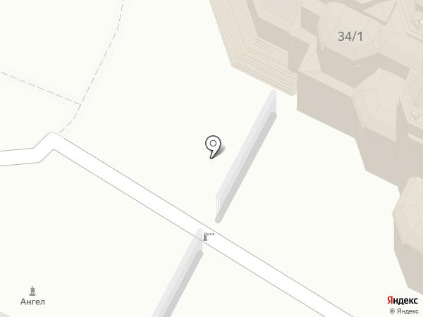 Казанская церковь на карте Иркутска