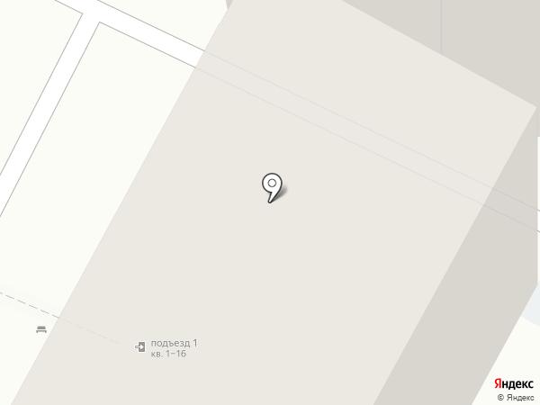 Comeback Hostel на карте Иркутска