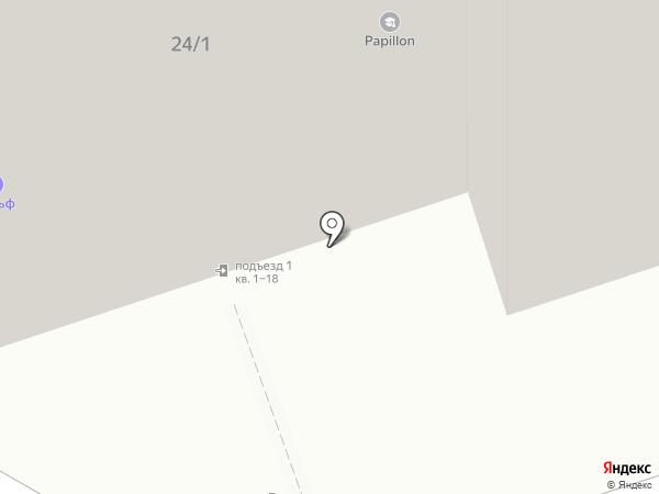 СитиСтар на карте Иркутска