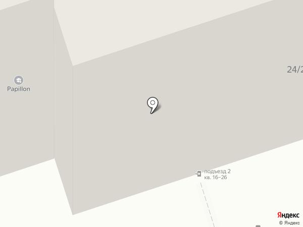 Иркутсклесстрой на карте Иркутска