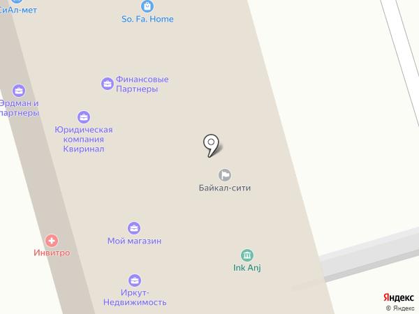 Автотехснаб на карте Иркутска