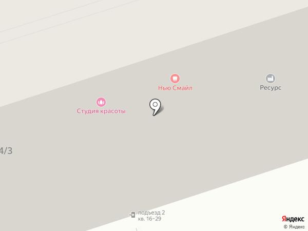 Фокус на карте Иркутска
