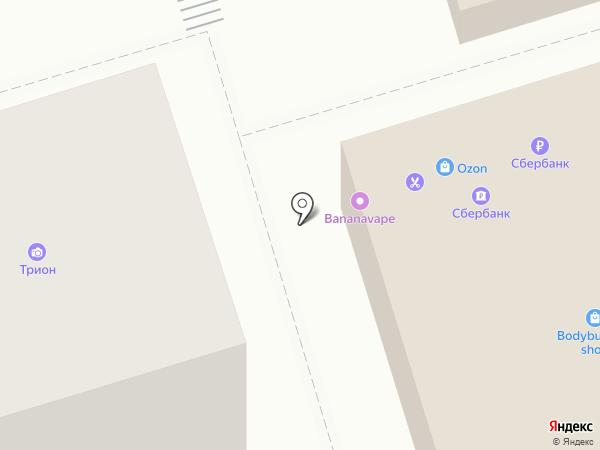 АРИГАТО на карте Иркутска