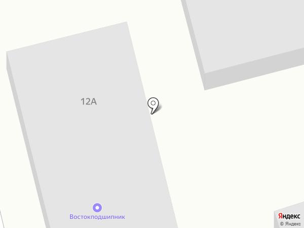 Востокподшипник на карте Малой Топки