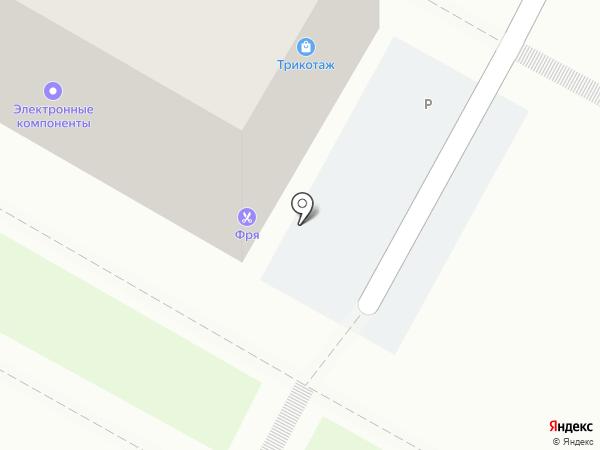 Фря на карте Иркутска