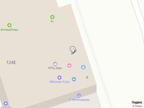 Мария на карте Иркутска