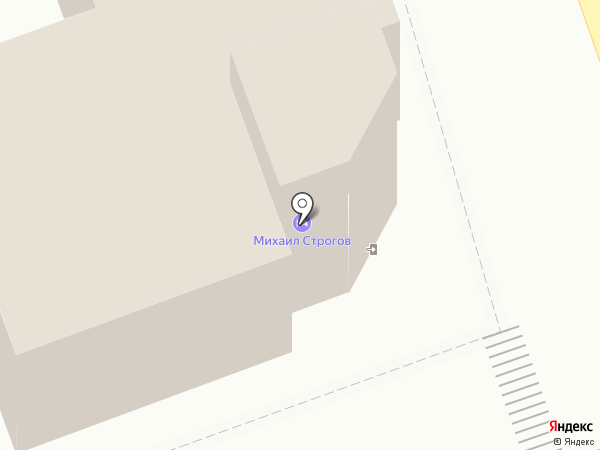 Михаил Строгов на карте Иркутска
