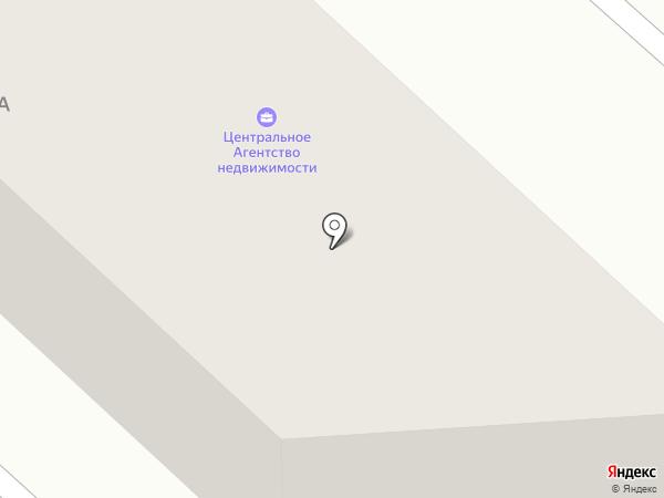 Центральное на карте Иркутска