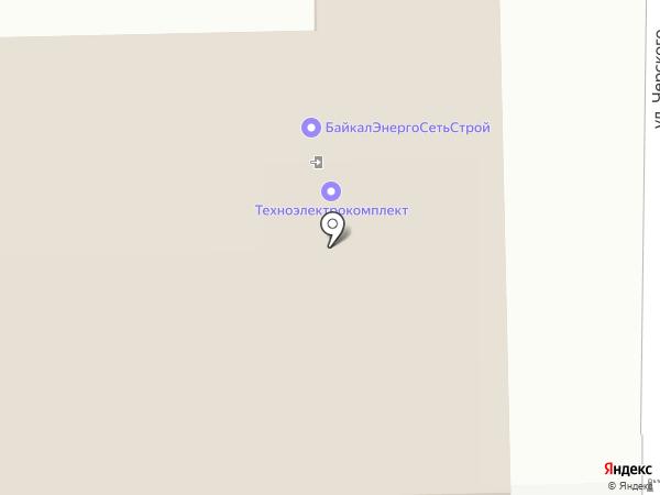 АВТОРИТЕТСЕТЬСЕРВИС на карте Иркутска