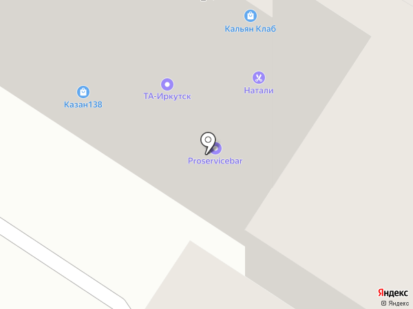 ТА-Иркутск на карте Иркутска