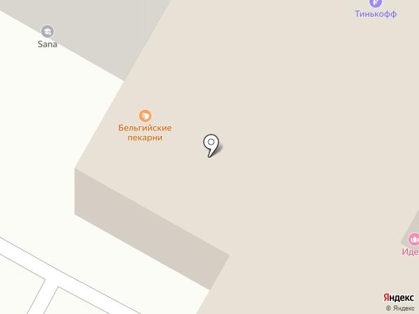 Кирсанов Д.Г. на карте Иркутска