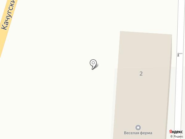 Рябинка на карте Иркутска