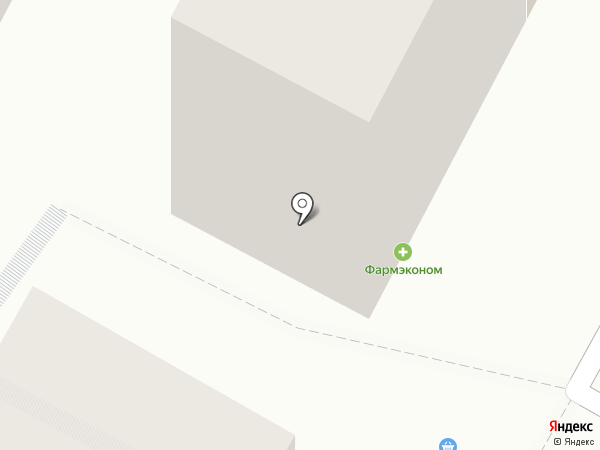Центровой на карте Иркутска