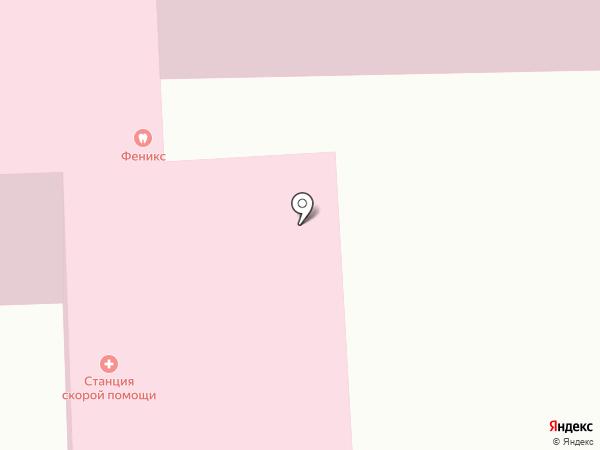 Иркутская станция скорой медицинской помощи на карте Иркутска