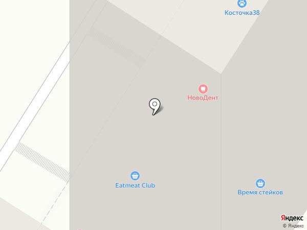 Эскулап на карте Иркутска