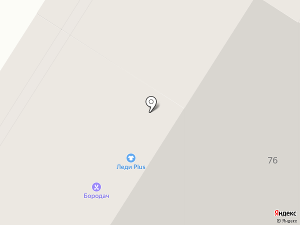 Лофт на карте Иркутска